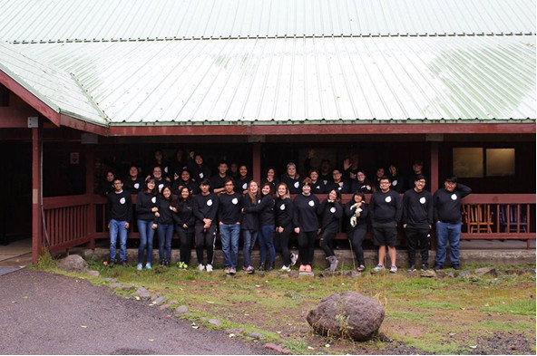 All the clubs gathered for PNWLA 2017 in our Mt. Hood cabin!