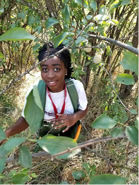 Vanessa Odjo Dogbe at Backyard Harvest