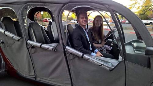 Driving at Gala