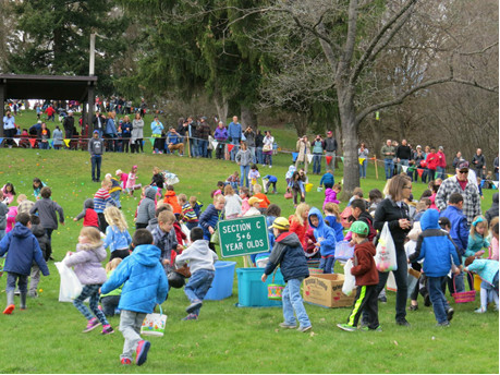 Pullman Easter Egg Hunt 2017